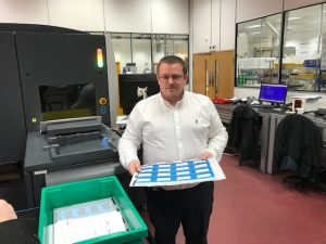 Mark Alderman, PDC BIG UK and Ireland Regional Business Manager at the Ipswich manufacturing facility.
