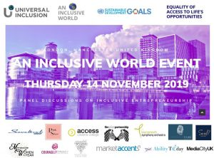 #News: Media Release: Universal Inclusion Launches Digital Platform Showcasing Inclusive Entrepreneurs During An Inclusive World Event